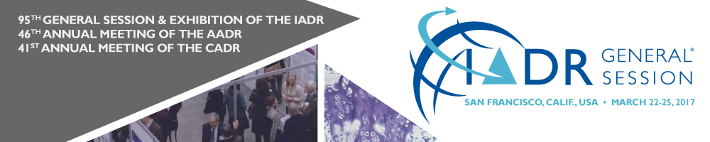 2017 IADR/AADR/CADR General Session & Exhibition