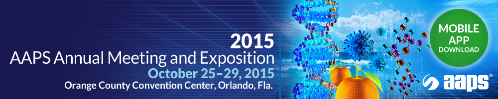 2015 AAPS Annual Meeting and Exposition