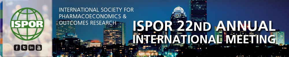 ISPOR 22nd Annual International Meeting